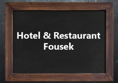 Hotel & Restaurant Fousek