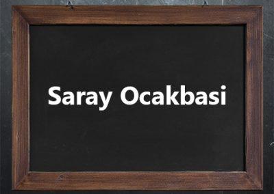 Saray Ocakbasi