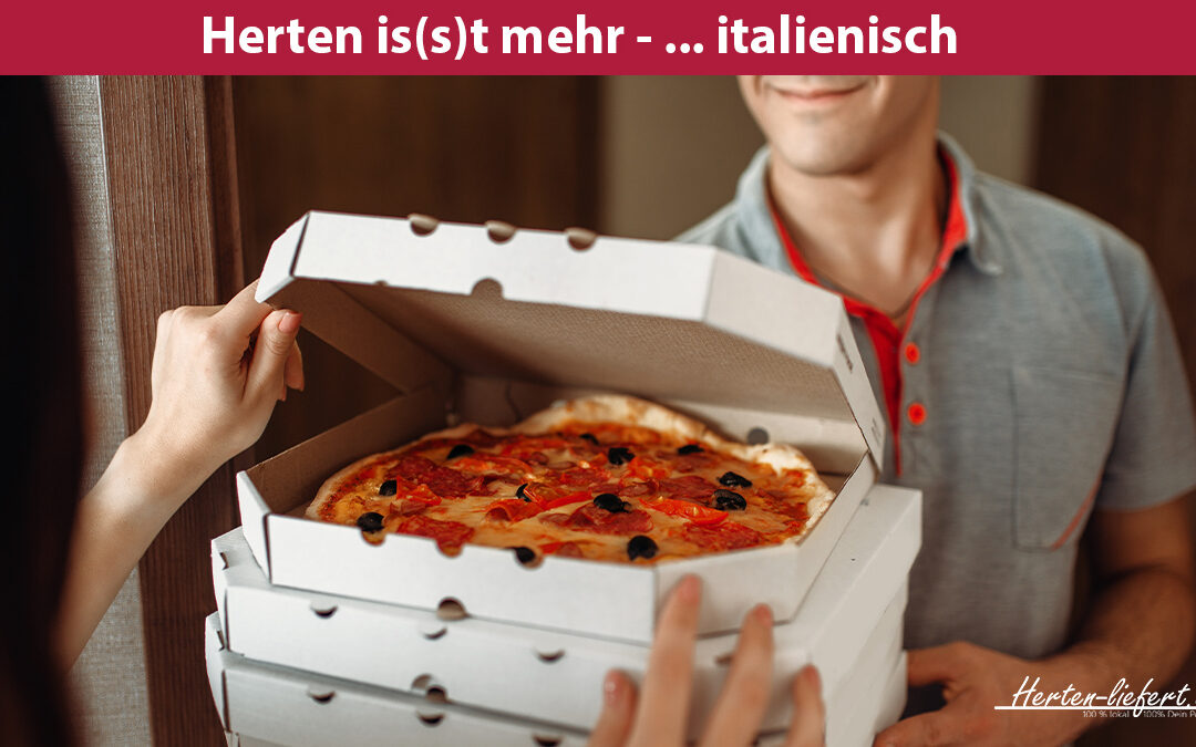 Pizzataxi für dich – einfach Pizza bestellen in Herten